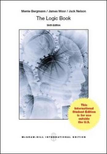 9781259010606: The Logic Book (Int'l Ed)