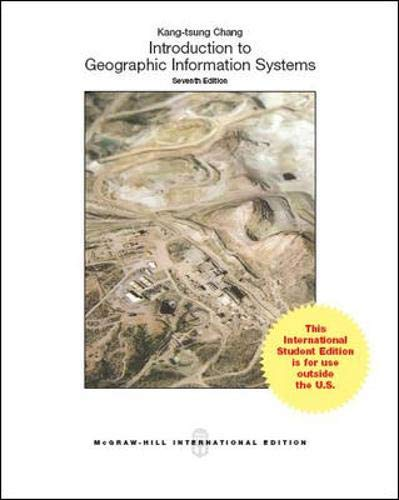 9781259010613: Introduction to Geographic Information Systems (Int'l Ed)