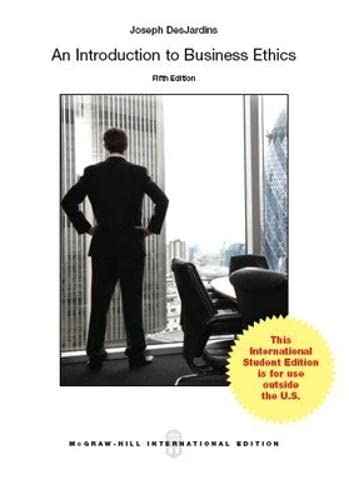 9781259010637: An Introduction to Business Ethics