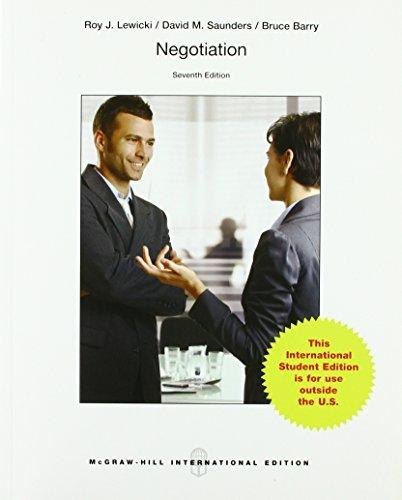 9781259010743: Negotiation