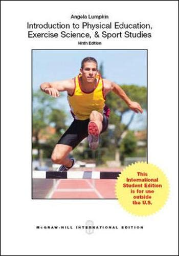 9781259010750: Introduction to Physical Education, Exercise Science, and Sport Studies (Int'l Ed)