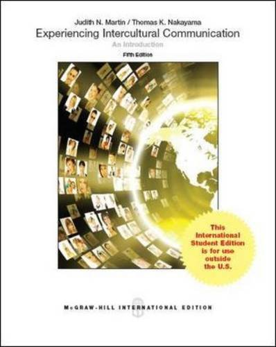 9781259010774: Experiencing Intercultural Communication An Introduction