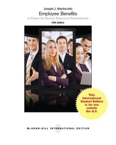 9781259010781: Employee Benefits