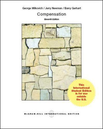 9781259010804: Compensation (Int'l Ed)