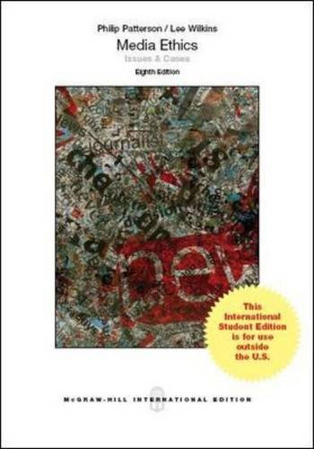 9781259010811: Media Ethics: Issues and Cases (Int'l Ed)