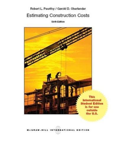 9781259010828: Estimating Construction Costs