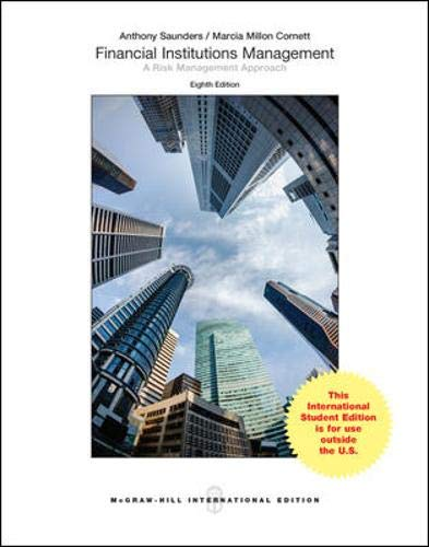 9781259010859: Financial Institutions Management: A Risk Management Approach