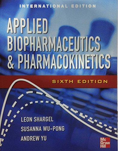 9781259011115: Applied Biopharmaceutics & Pharmacokinetics