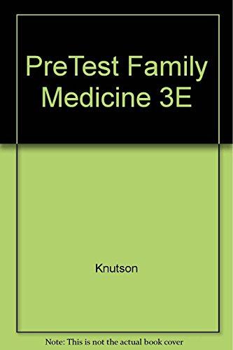 9781259011290: Family Medicine Pretest Self-Assessment And Review, 3e
