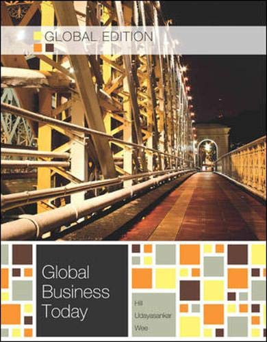 9781259011788: Global Business Today