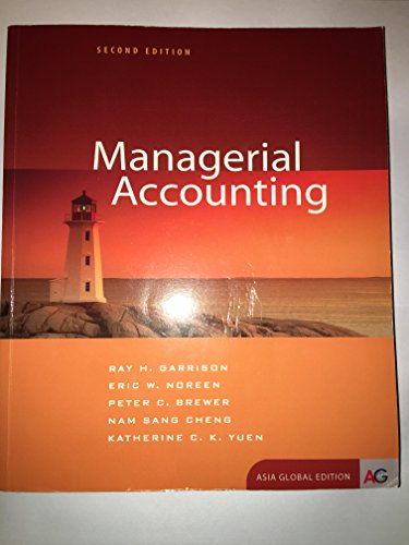 9781259011825: Managerial Accounting