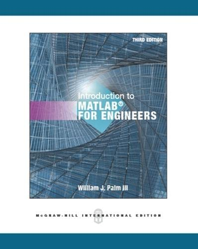 Introduction to MATLAB for Engineers: Palm