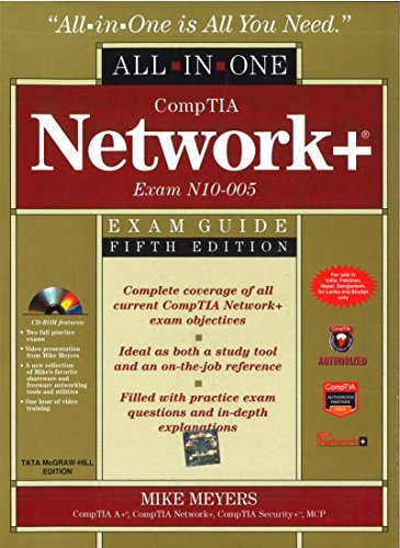 9781259025532: COMPTIA NETWORK+ CERTIFICATION ALL-IN-ONE EXAM GUIDE, 5TH EDITION (EXAM N10-005)