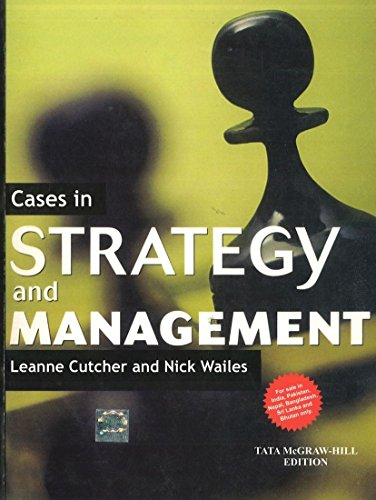 9781259025655: Cases in Strategy & Management