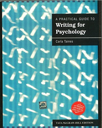 9781259025709: A Practical Guide To Writing For Psychology