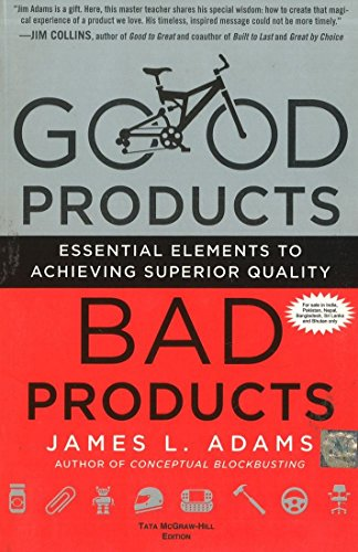 9781259025808: Good Products, Bad Products : Essential Elements to Achieving Superior Quality