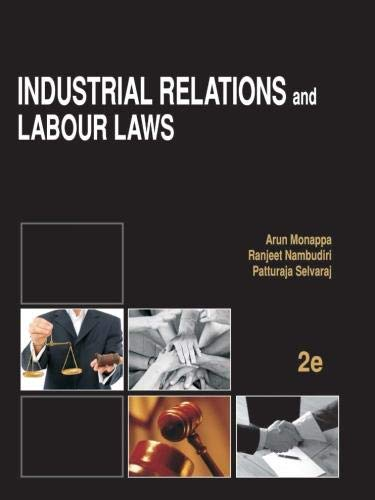 9781259026201: Industrial Relations and Labour Laws