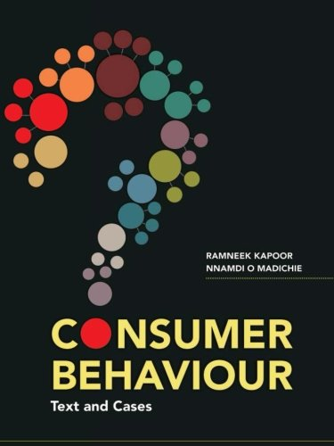 9781259026461: Consumer Behaviour: Text and Cases