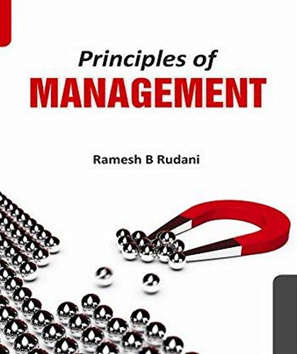 Principles of Management: Ramesh B. Rudani