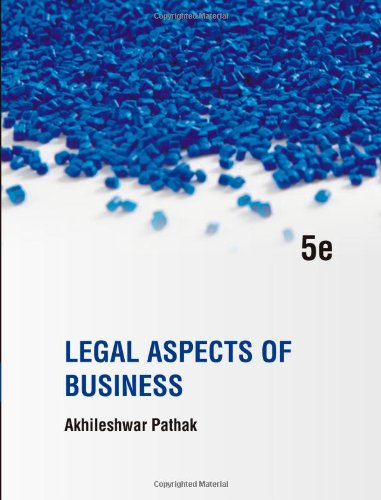 9781259026584: Legal Aspects of Business