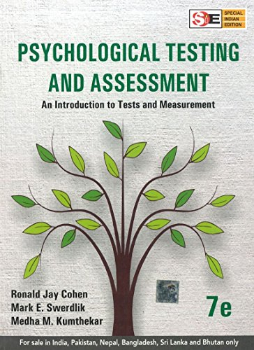 9781259026751: Psychological Testing And Assessment An Introduction To Tests And Meas Urement 7th Ed