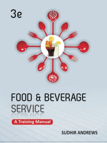 9781259026928: Food and Beverage Services: A Training Manual