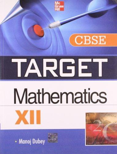 9781259027079: Target CBSE Mathematics (Class - XII)