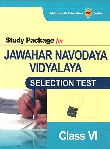 9781259027277: Study Package for Jawahar Navodaya Vidyalaya: Selection Test for Class 6