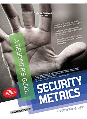 9781259027468: Security Metrics, A Beginners Guide
