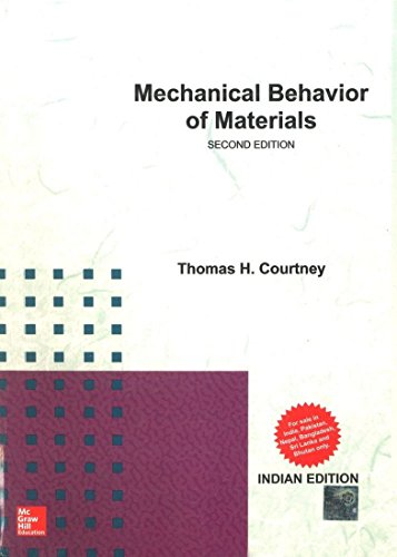 9781259027512: Mechanical Behavior of Materials