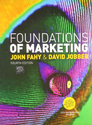 9781259027611: Foundations of Marketing