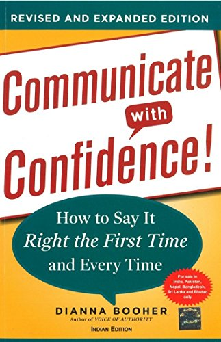 9781259027659: [(Communicate with Confidence: How to Say it Right the First Time and Every Time )] [Author: Dianna Booher] [Jan-2012]