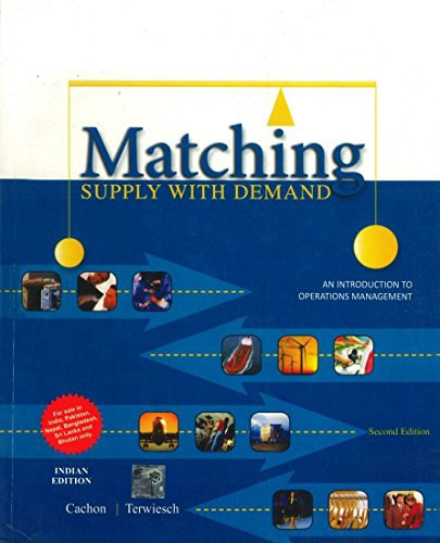 9781259027734: Matching Supply with Demand