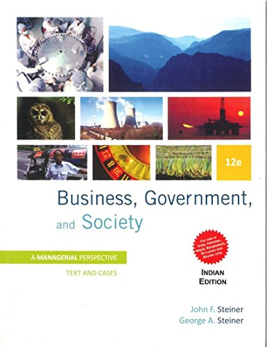 9781259028519: Business, Government and Society