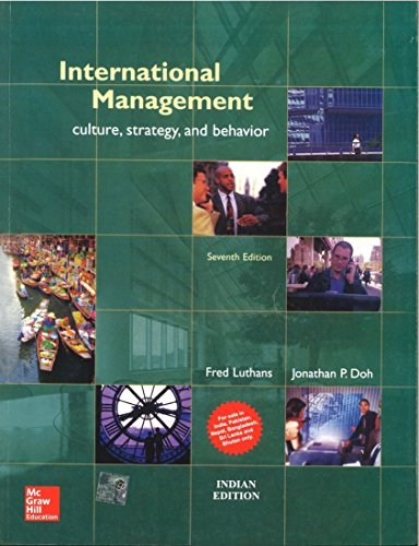 9781259028540: International Management Culture, Strategy, and Behavior