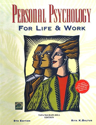 9781259028663: Personal Psychology for Life and Work