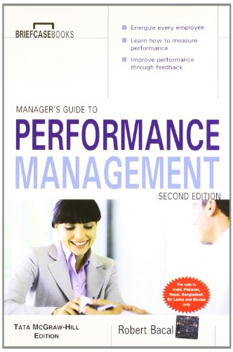 9781259028694: Manager's Guide to Performance Management, 2nd Edition