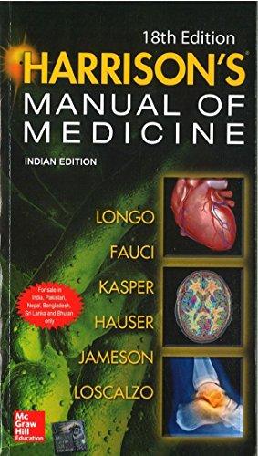 9781259029400: Harrison's Manual of Medicine, 18th ed.