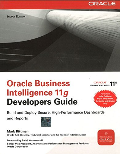 9781259029424: [(Oracle Business Intelligence 11g Developers Guide )] [Author: Mark Rittman] [Oct-2012]