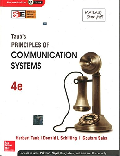 9781259029851: Principles of Communication Systems (SIE) 4e