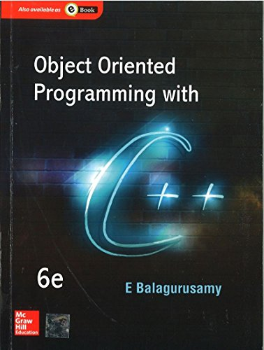 9781259029936: Object Oriented Programming With C++ , 6Ed
