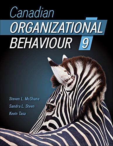 9781259030536: Canadian Organizational Behaviour