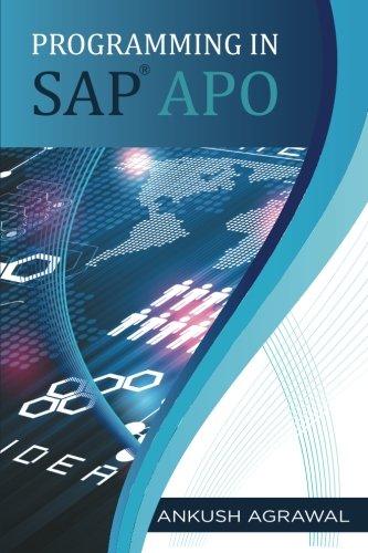 9781259058844: Programming in SAP APO