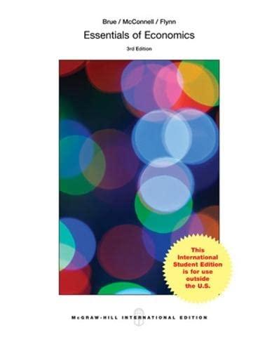 9781259060403: Essentials of Economics (Int'l Ed) (McGraw-Hill Series in Economics)