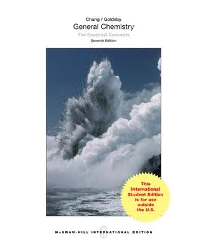9781259060427: General Chemistry The Essential Concepts