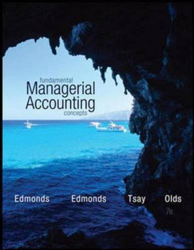 9781259060502: Fundamental Managerial Accounting Concepts