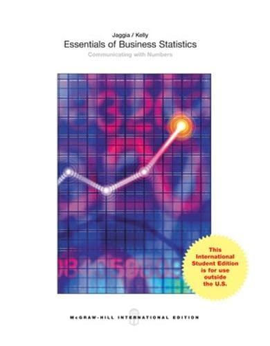 9781259060601: Essentials of Business Statistics (Int'l Ed)