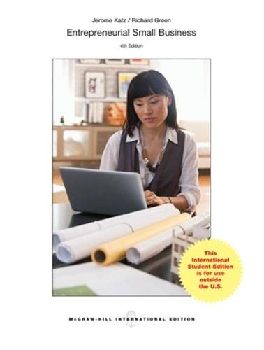 Test bank for entrepreneurial small business 4th edition by katz.