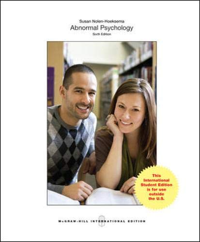 9781259060724: Abnormal Psychology (Int'l Ed)