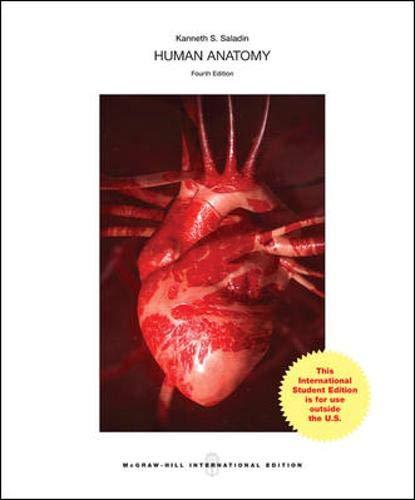 9781259060823: Human Anatomy (Int'l Ed)